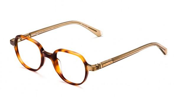 Etnia Barcelona Vintage Brille POITIERS HVBR Größe 46