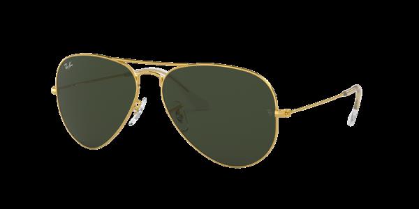 Ray Ban Sonnenbrille Aviator RB3025 W3234 Größe 55