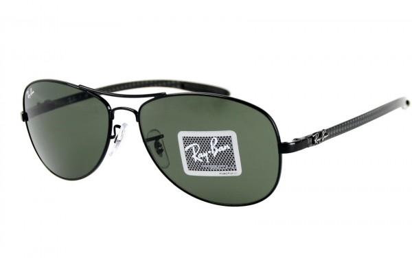 Ray Ban Sonnenbrille Tech/Carbon Fibre RB8301-002 Größe 59