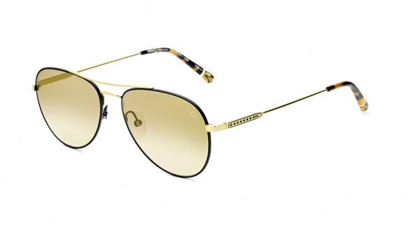 Etnia Sonnenbrille Vintage BRERA SUN GDBK Größe 56