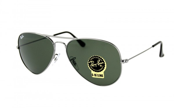 Ray Ban Sonnenbrille Aviator RB3025 W0879 Größe 58
