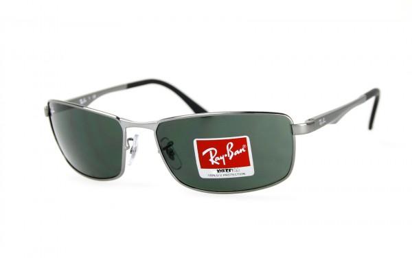 Ray Ban Sonnenbrille RB3498-004/71 Größe 64