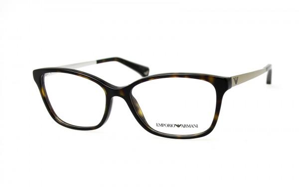 Emporio Armani Brille EA3026 5026 Größe 52
