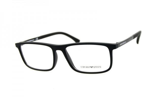 Emporio Armani Herren Brille » EA3125«, schwarz, 5063 - schwarz