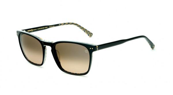Etnia Sonnenbrille Vintage KITSILANO SUN BKBR Größe 53