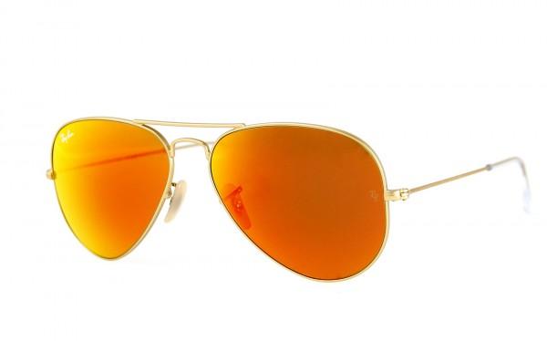Ray Ban Sonnenbrille Aviator RB3025 112/69 Größe 55