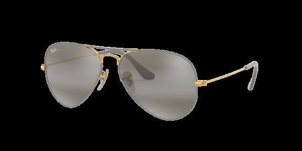 Ray Ban Sonnenbrille Aviator RB3025 9154/AH Größe 58