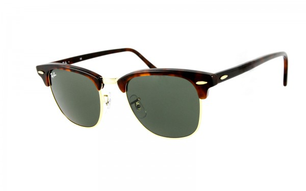 Ray Ban Sonnenbrille Clubmaster RB3016-W0366 L