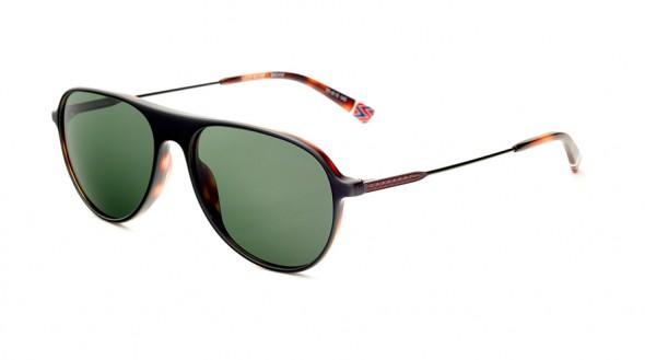 Etnia Sonnenbrille Vintage SKID ROW SUN BKHV Größe 55