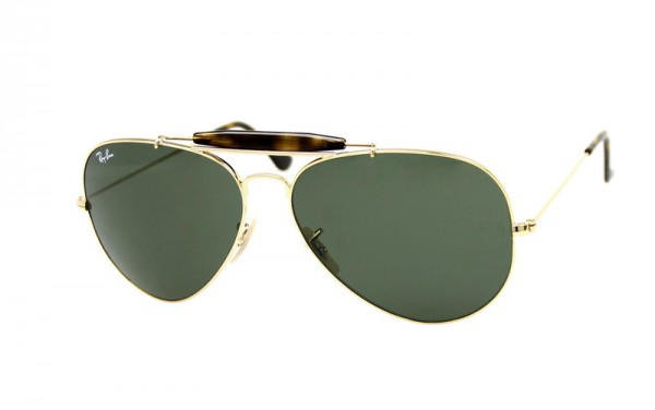 Ray Ban Sonnenbrille Outdoorsman II RB3029 181