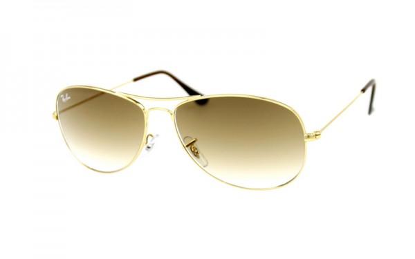 Ray Ban Sonnenbrille Aviator RB3362 001/51 Größe 56