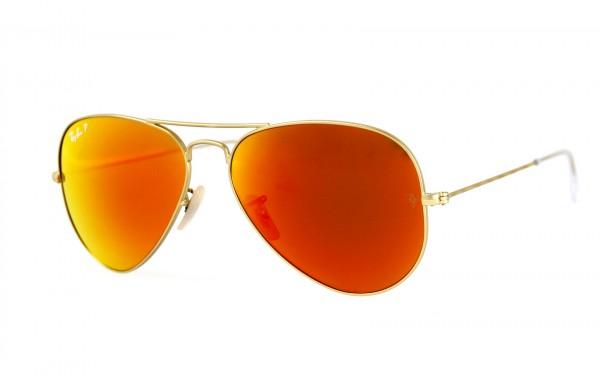 Ray Ban Sonnenbrille Aviator RB3025 112/4D Größe 58