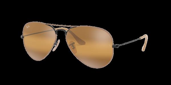 Ray Ban Sonnenbrille Aviator RB3025 9153/AG Größe 55
